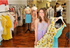 Sophie Stargazer Boutique owner Kristin Snyder keeps an eye on where and how her boutique items are made.