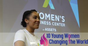 Melisa Baez, Director of the Women's Business Center at ASSETS.